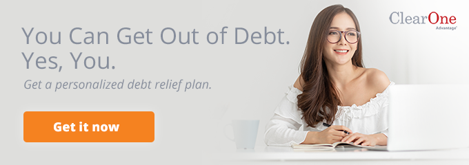 Get a personalized debt relief plan.