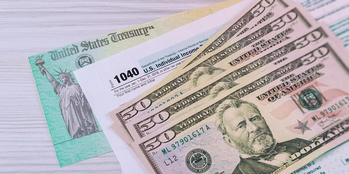 US Tax Refund Image