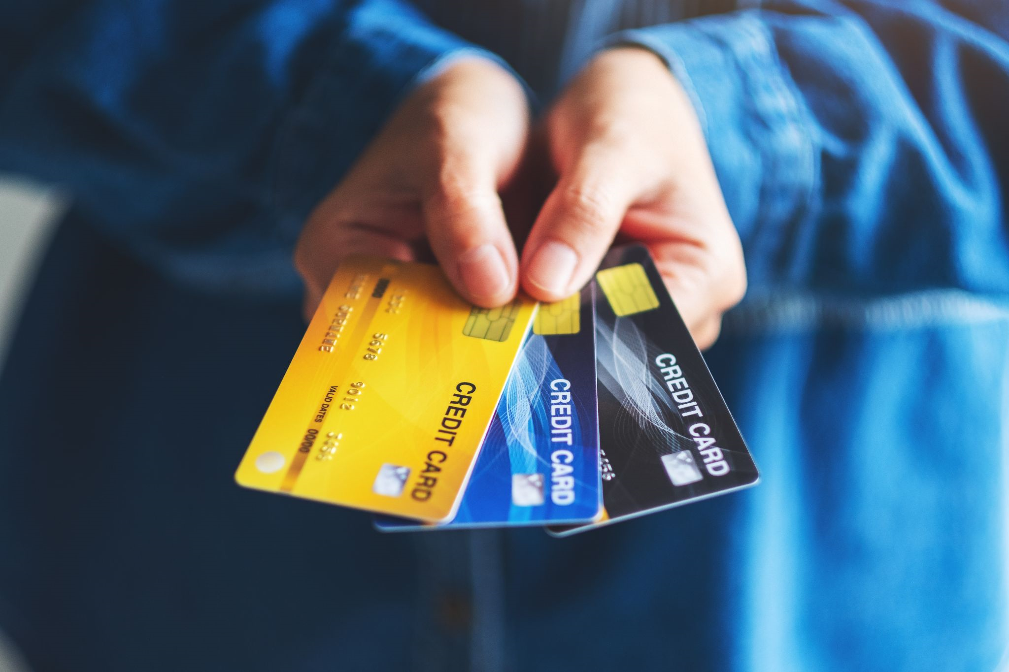 Many holding credit cards