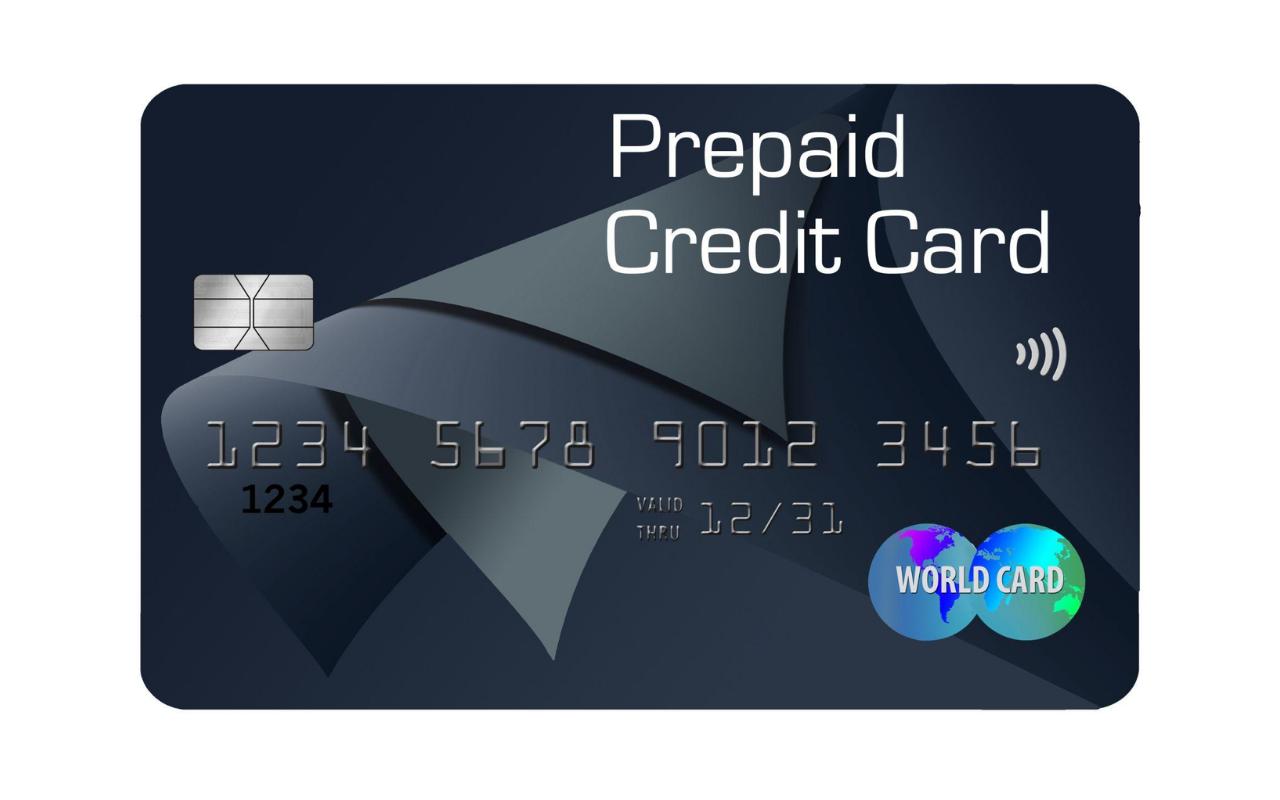 Image of Prepaid Credit Card