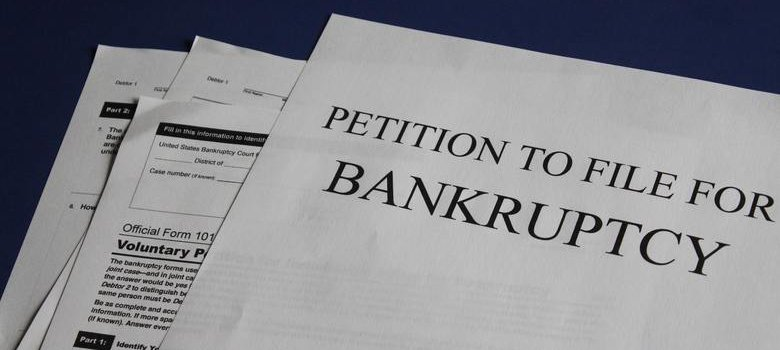 Document titled Petition To File For Bankruptcy